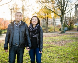 Portland South Waterfront Engagement Photography
