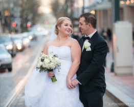 Here are some our favorite photos from Tauni and Mark's Nines Hotel and West End Ballroom Wedding in downtown Portland.