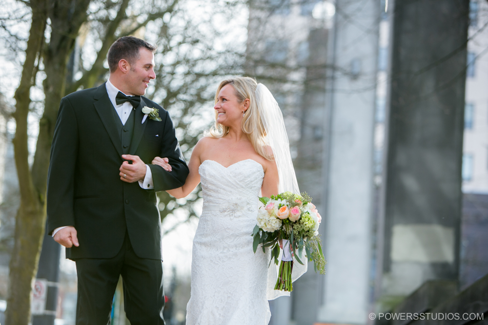 Sentinel Hotel Wedding Photography in Portland, OR.
