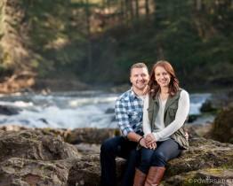 Lucia Falls Engagement Photos Washington